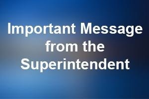 Messages/Updates from Superintendent Rousselle on the School Closures Thumbnail Image