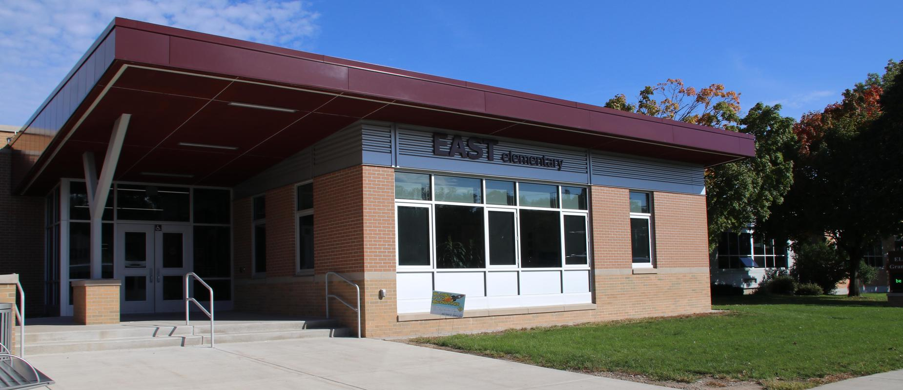 exterior of East Elementary