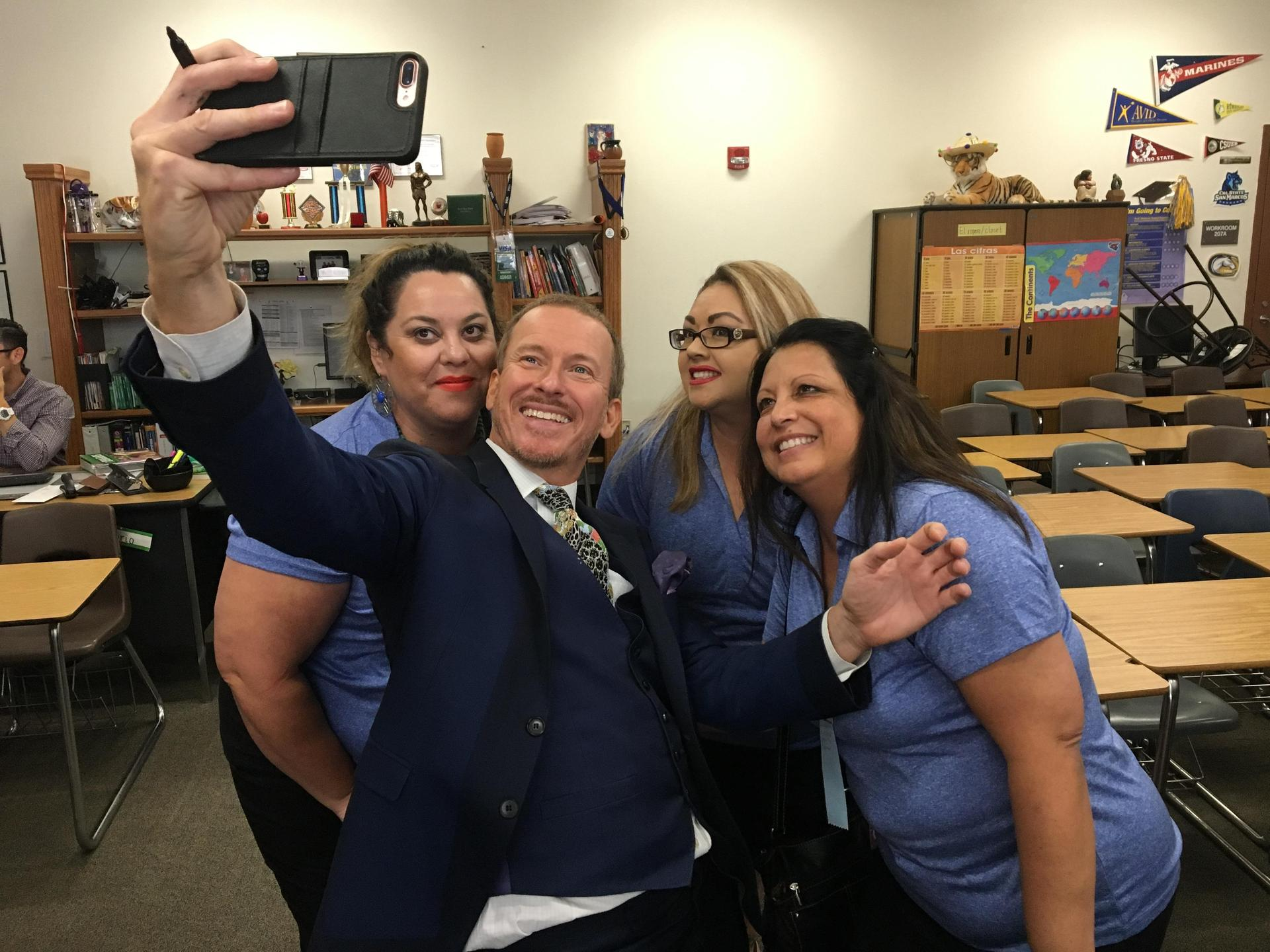 Ron Clark met with SJUSD Teachers
