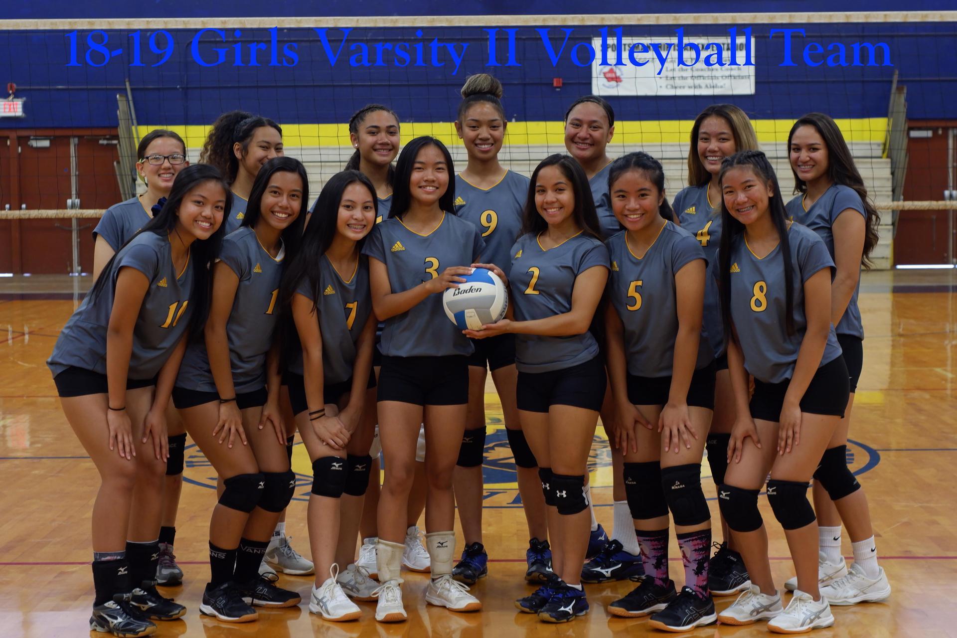 Volleyball Varsity Girls
