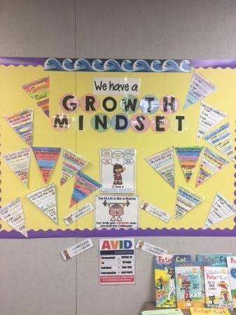 """Growth Mindset"" Bulletin Board"