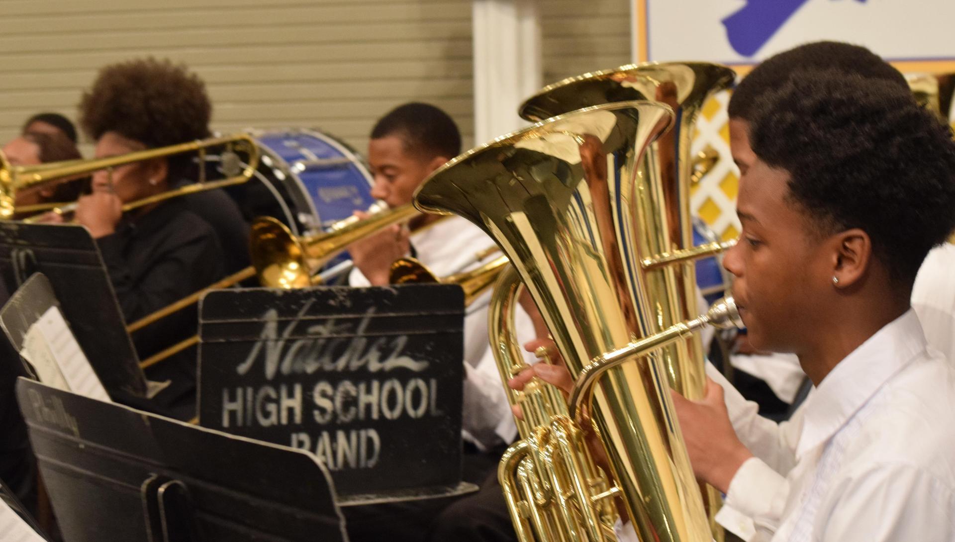 Natchez High School Band 2018-2019