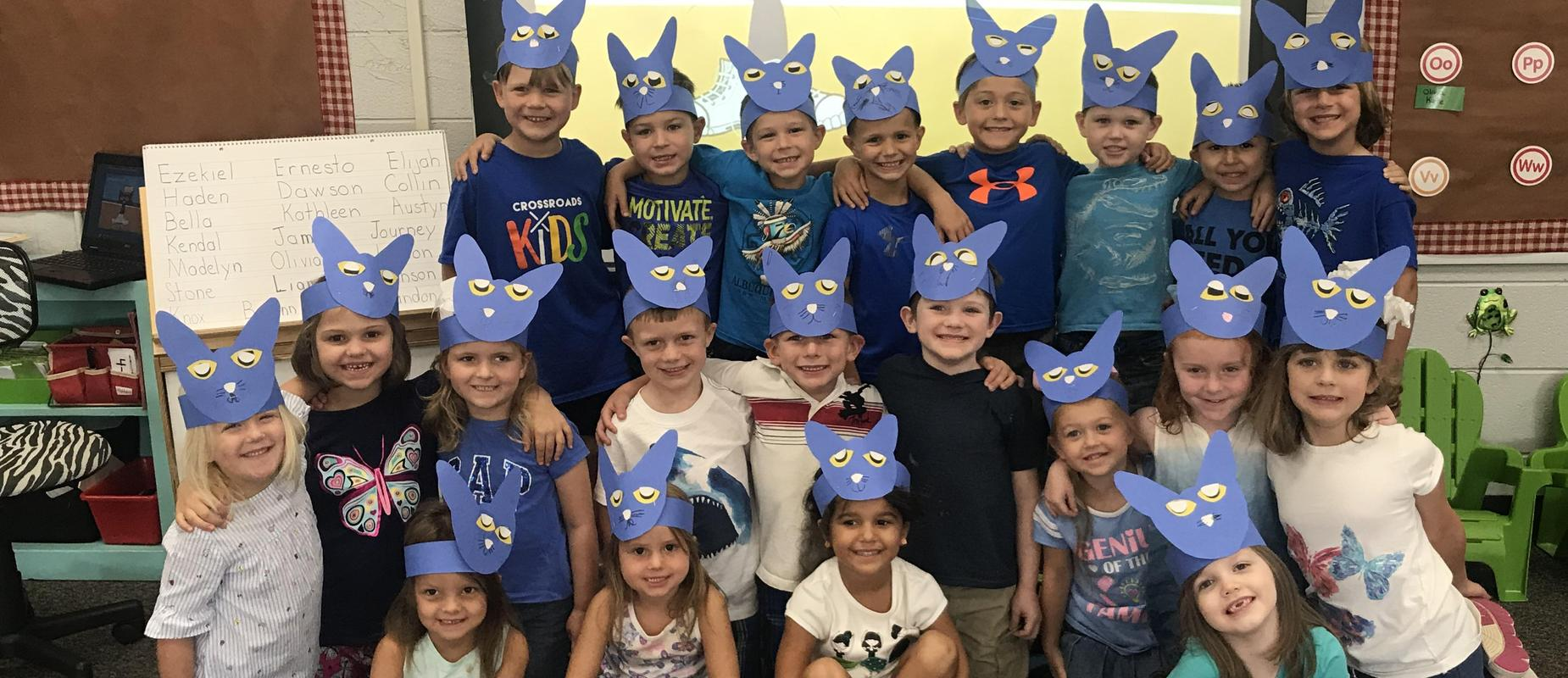 Pete the Cat Students