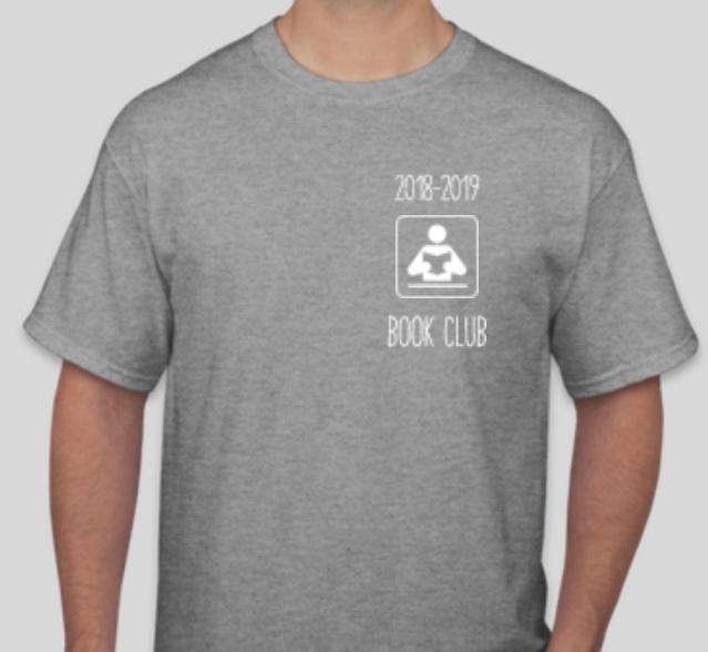 front of book club tshirt