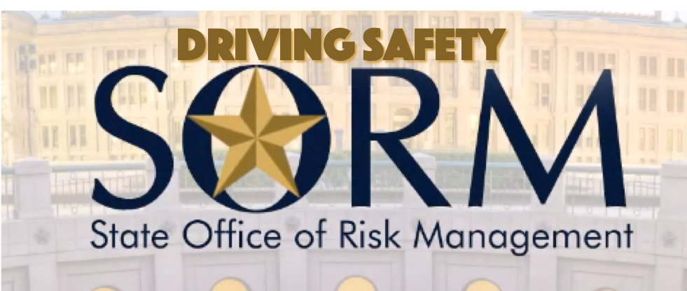 SORM Driving Safety SIGN UP