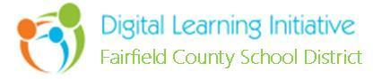 Fairfield County School District's Digital Learning Initiative Logo