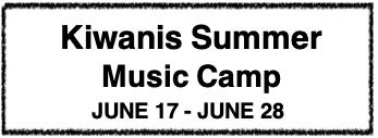 Kiwanis Music Camp Logo