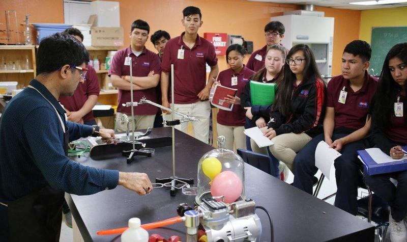 Lieutenant Governor Todd Lamb Toured Classrooms at Dove Science Academy Tulsa Featured Photo