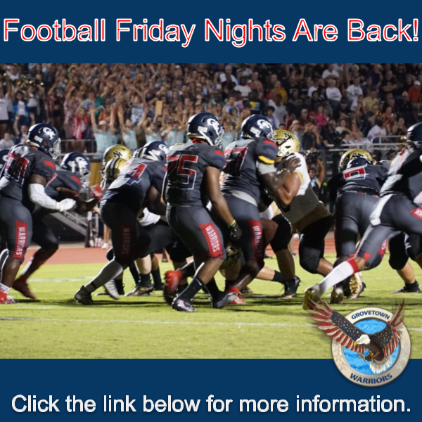 Football Friday Nights Are Back! Featured Photo