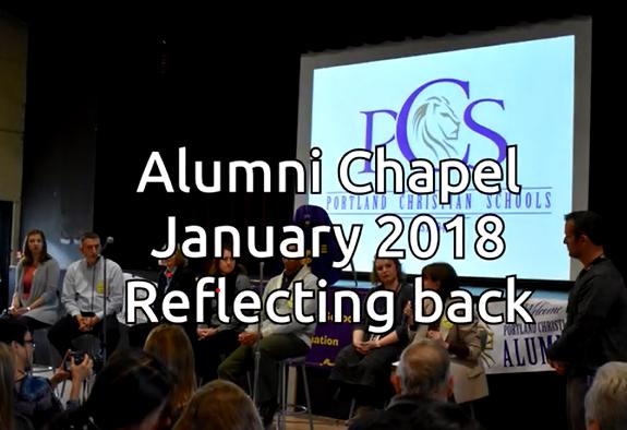Alumni chapel January 2018