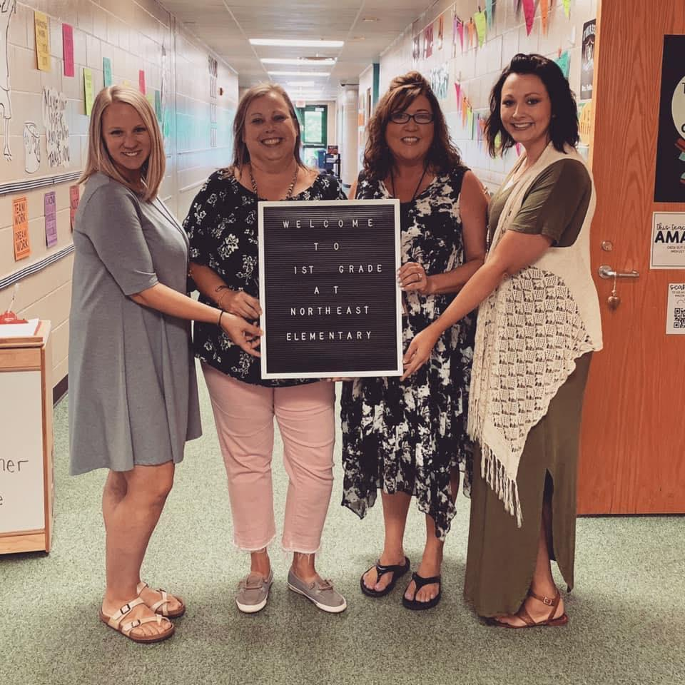 Mrs. Fulton, Mrs. Day, Mrs. Enzbrenner, & Mrs. Rice