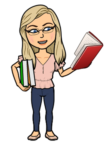 Bitmoji of Mrs. P. Chance