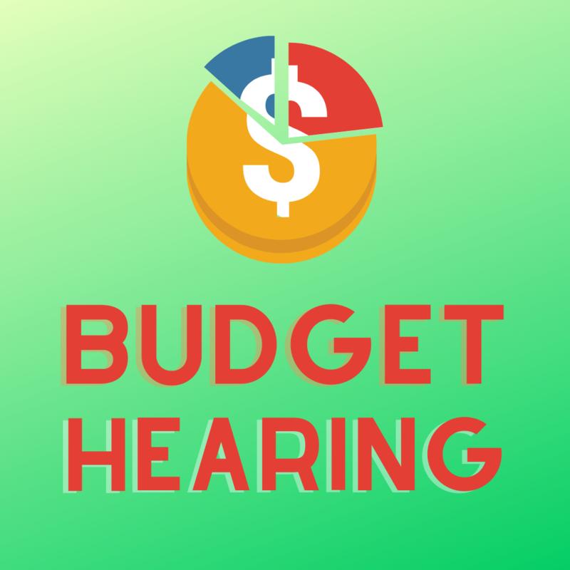budget hearing logo