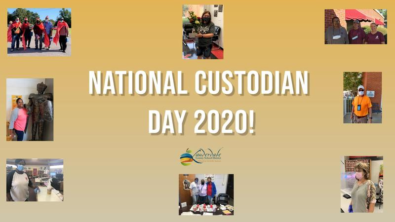 LCSD Custodian Appreciation Day Graphic
