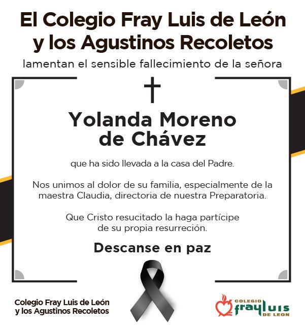 Yolanda Moreno de Chávez. Featured Photo