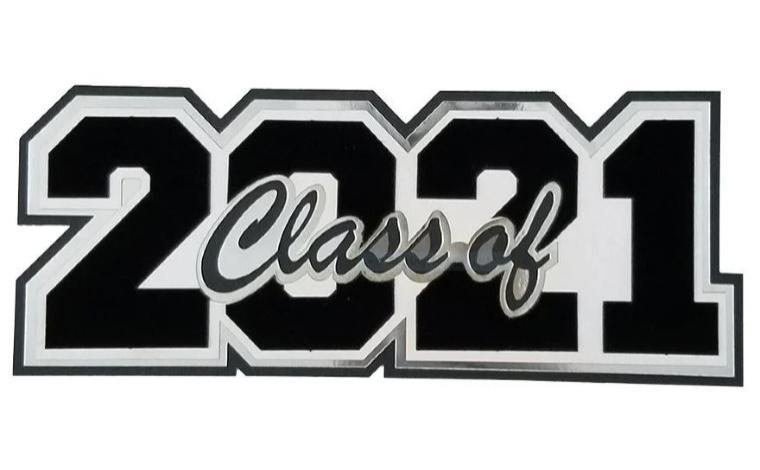Decorative picture that says Class of 2021