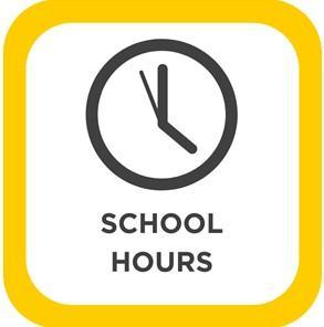 School Hours 8:45-2:45PM