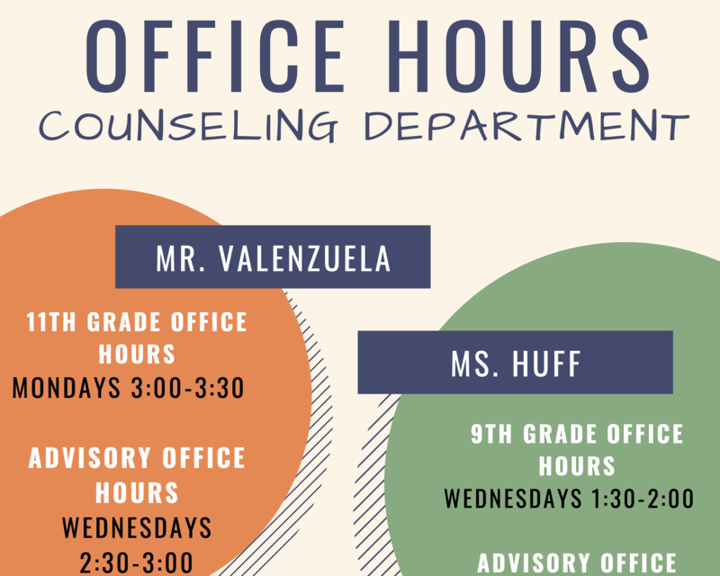 Counseling Office Hours Thumbnail Image