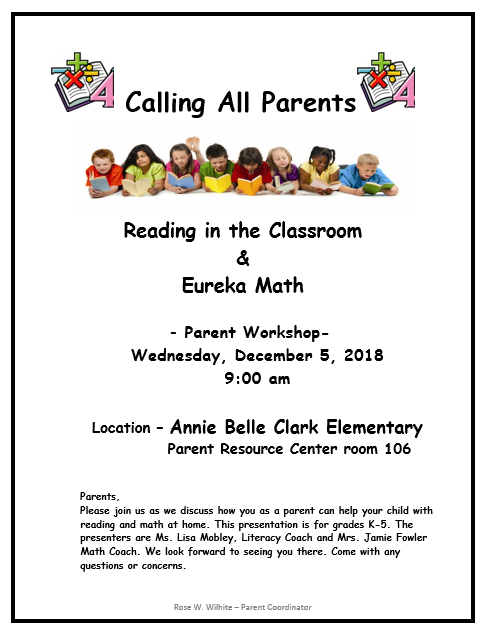 Upcoming Parent Workshop Featured Photo