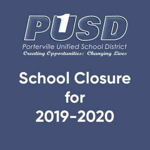 school closure for 2019-2020