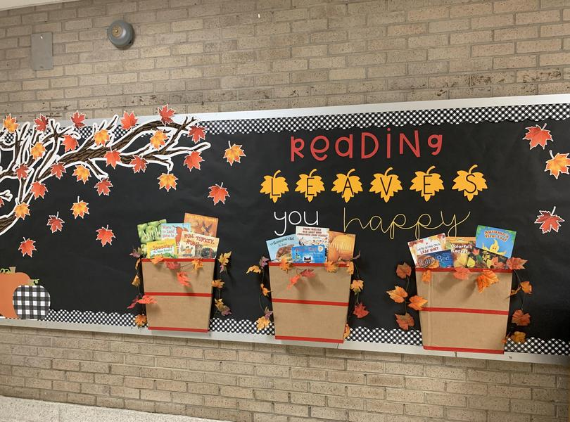 Bulletin Board: Reading Leaves You Happy