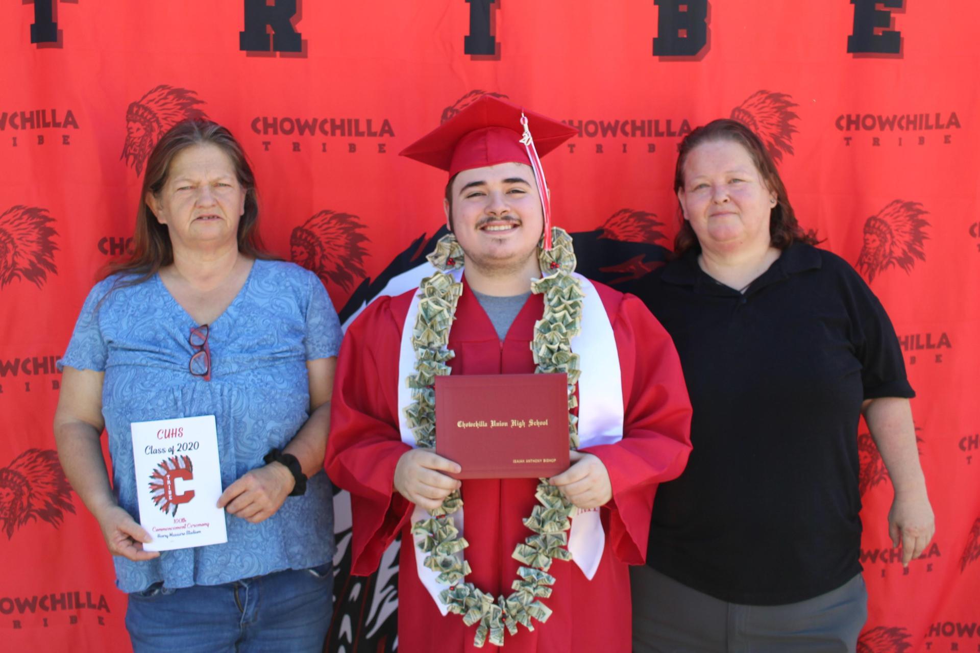 Isaiah Bishop and family