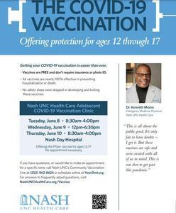 Adolescent COVID Vaccine Information Featured Photo