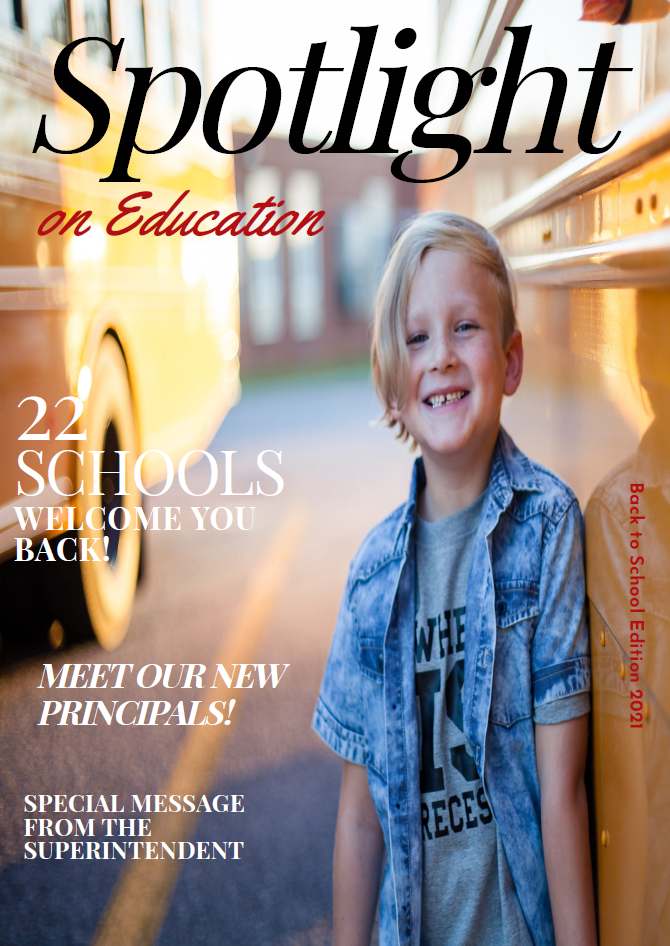 Spotlight on Education Cover Back to School 2021 Edition