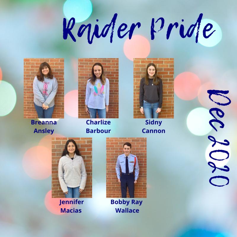 Raider Pride Dec. 2020