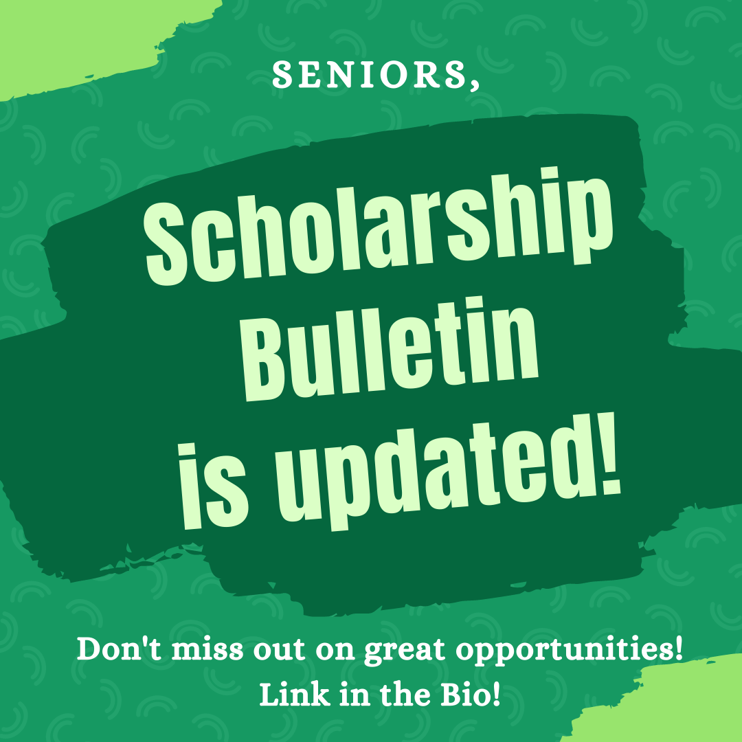 Scholarship Bulletin updated