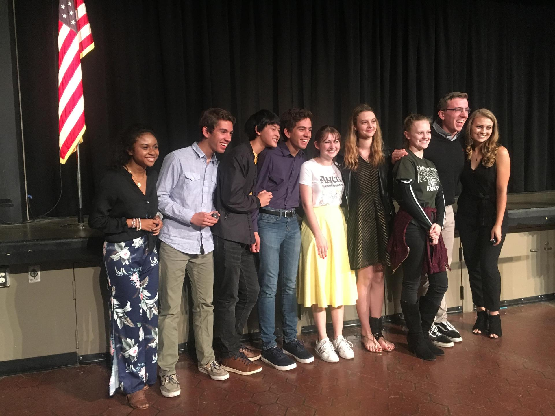 648a82f18 We celebrated the seniors and all the hard work their hard work this year  at a special event this week. We announced our 2019 Valedictorians and ...