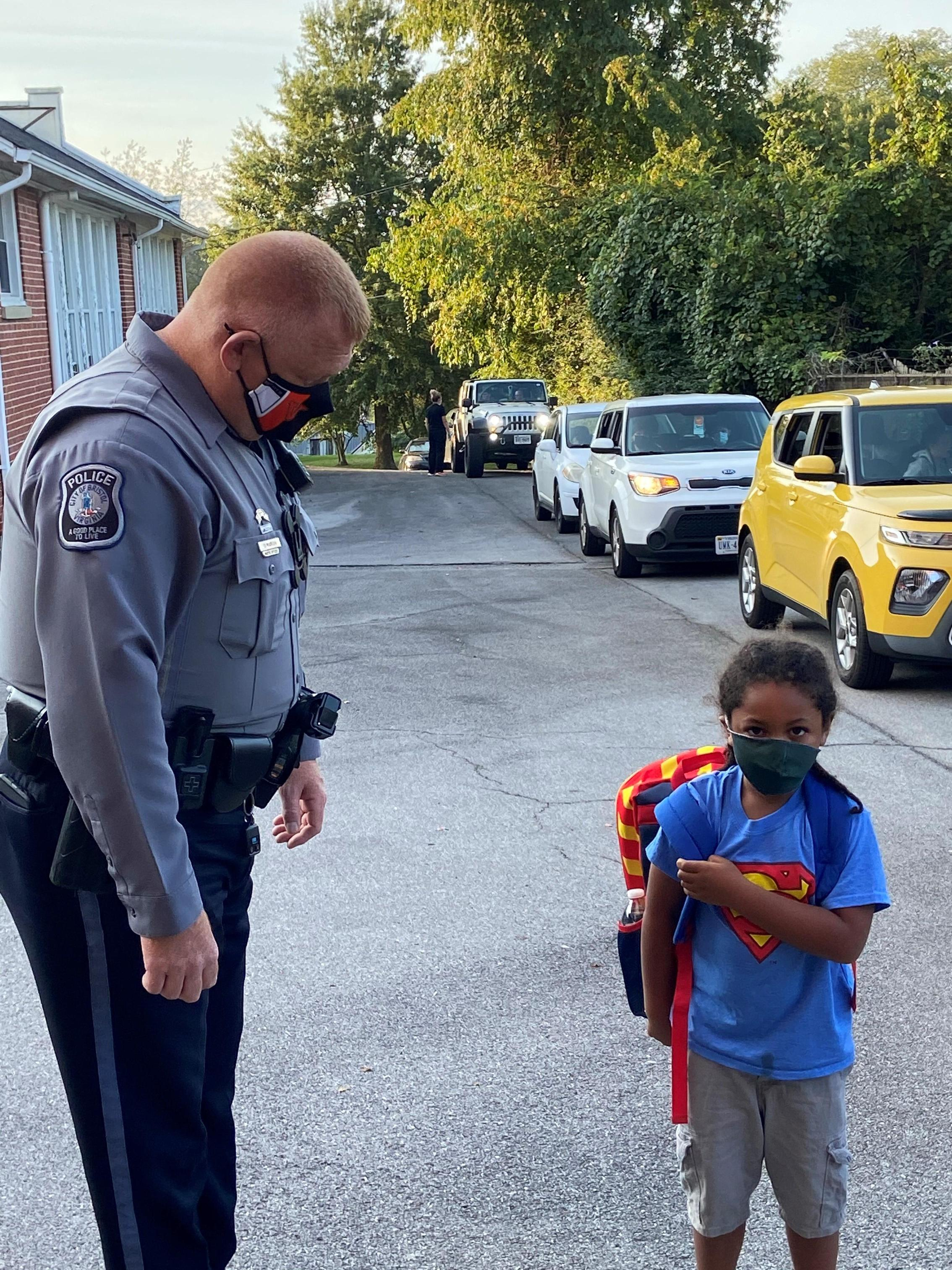Officer Marion and King