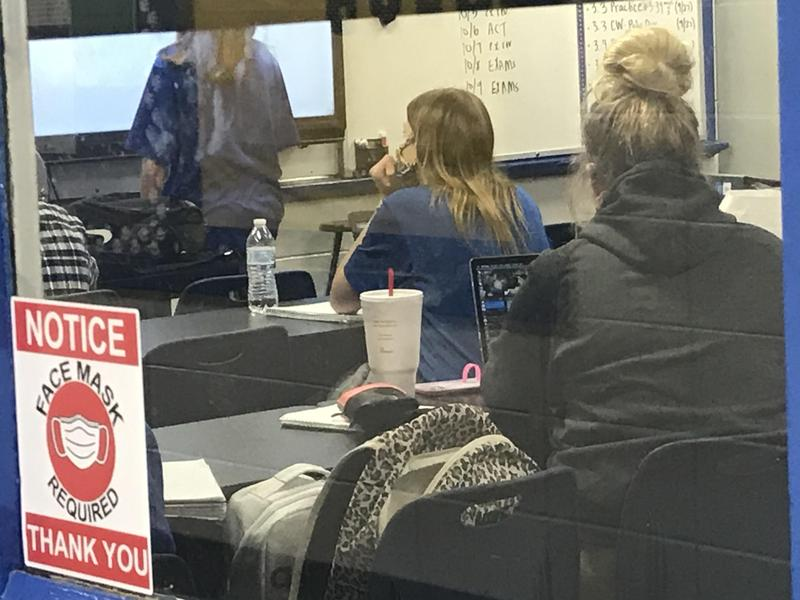 Southeast High 2020 Classroom photo