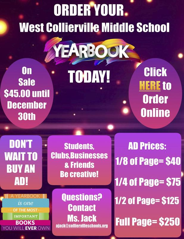 WCMS Yearbooks ON SALE!!! Featured Photo