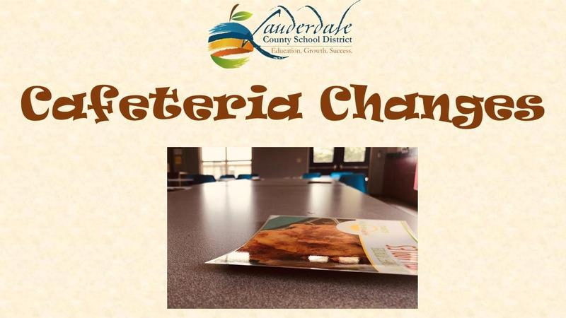 Cafeteria Changes Graphic