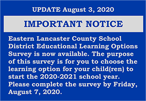 Important Notice - Learning Option Survey
