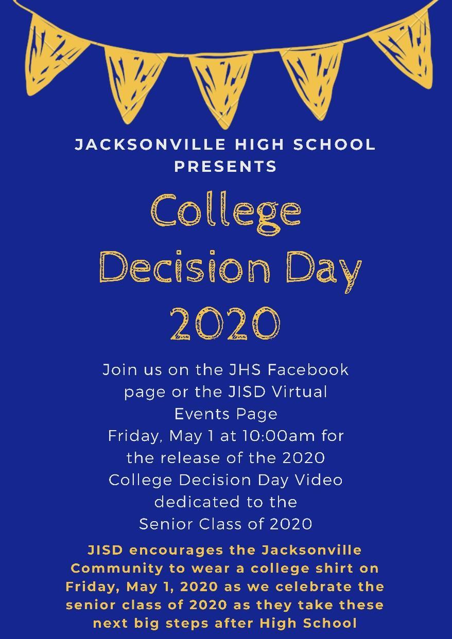 college decision day invite