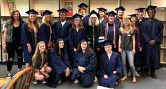 Senior students return to Shiloh Hills before graduating.