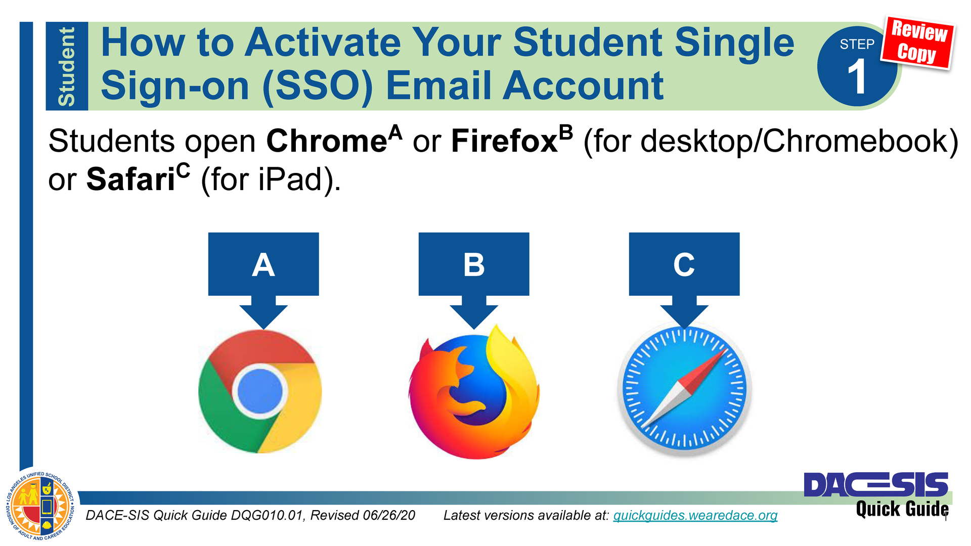 How to Activate Your Student Single Sign-on (SSO) Email Account - Spanish Thumbnail