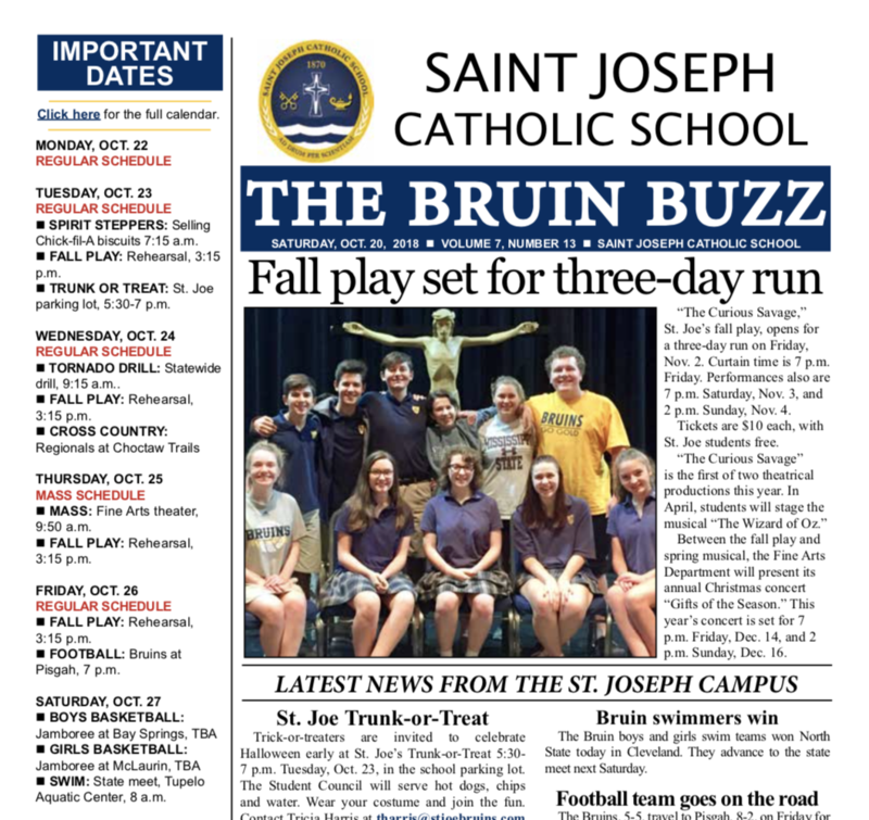 THE BRUIN BUZZ: OCT. 20 Thumbnail Image