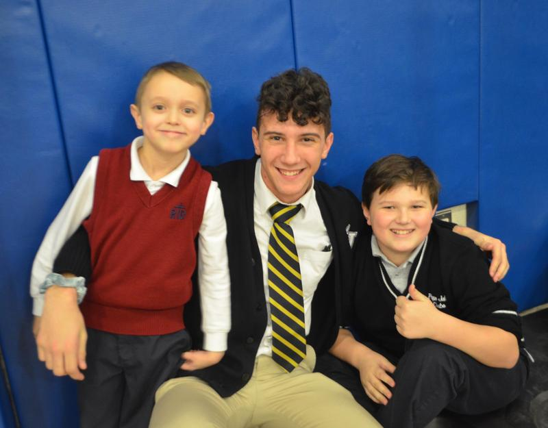 Linking Lions helps Catholic Academy students bond together Thumbnail Image