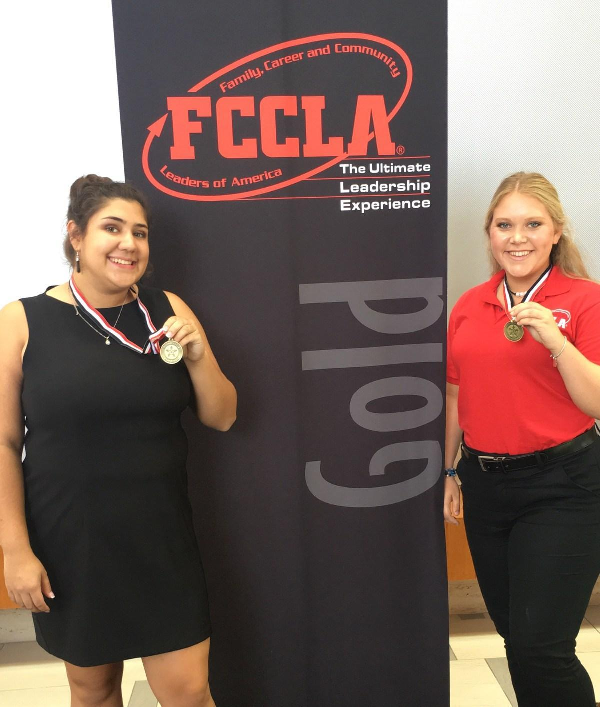 National Champions Jessica Padron and Hannah Mulford created Beautiful Too, a program for 8th grade girls