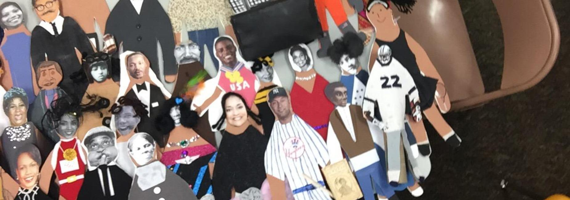 Paper Doll Projects Black History Month