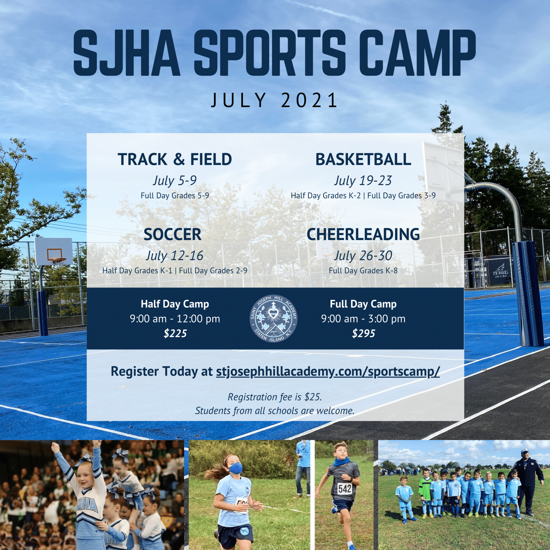 sjha sports camp