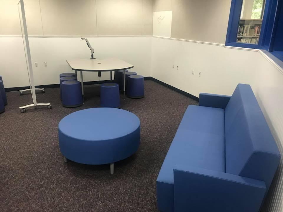 Exeter Union High School Library Remodel- Summer 2018