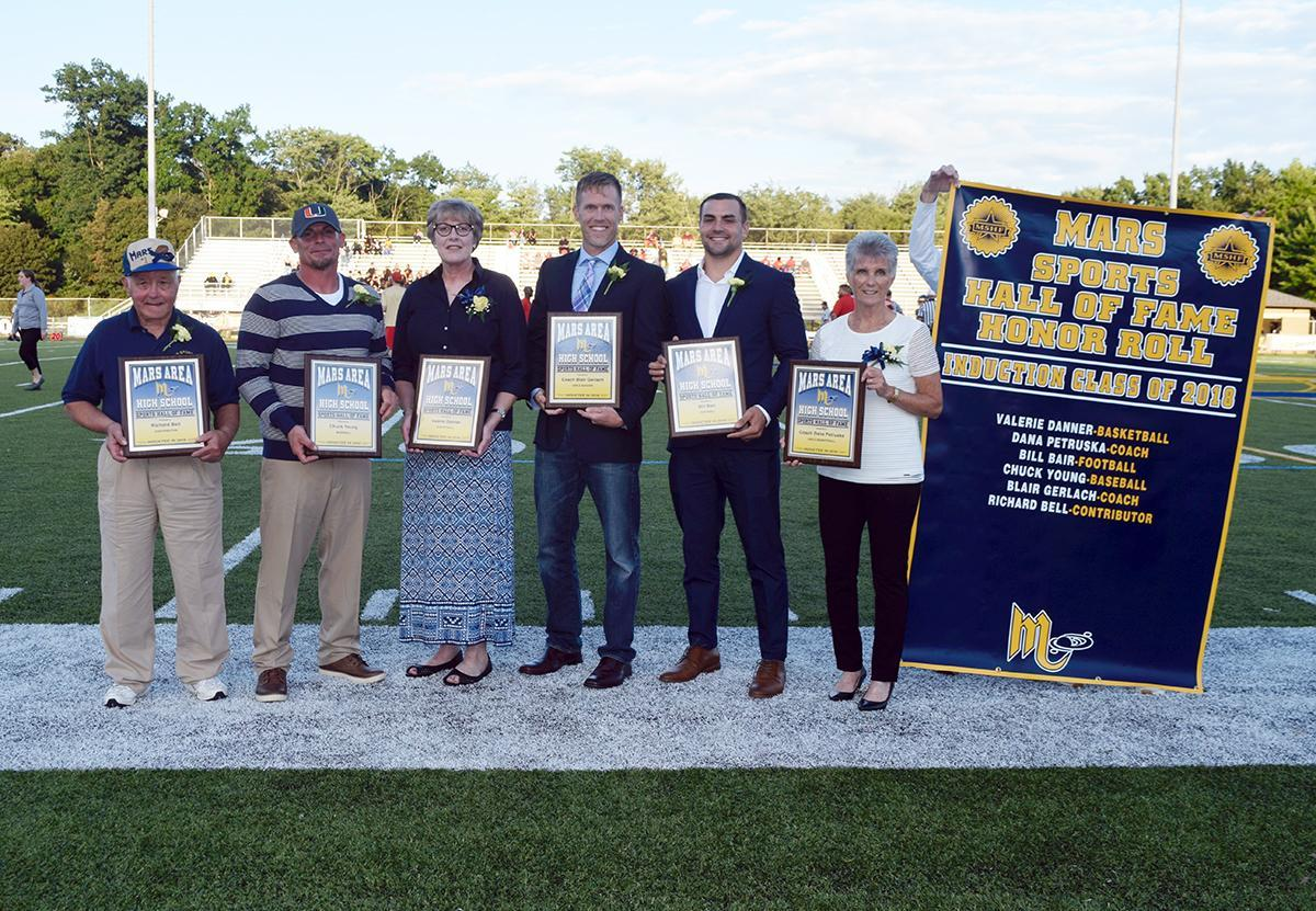2018 Mars Area High School Sports Hall of Fame Inductees