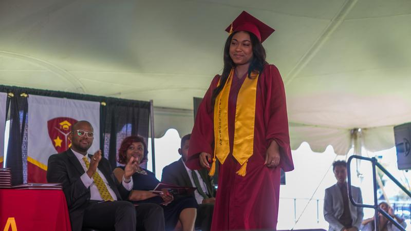 Graduates Receive Awards and Scholarships at Commencement Ceremony Thumbnail Image
