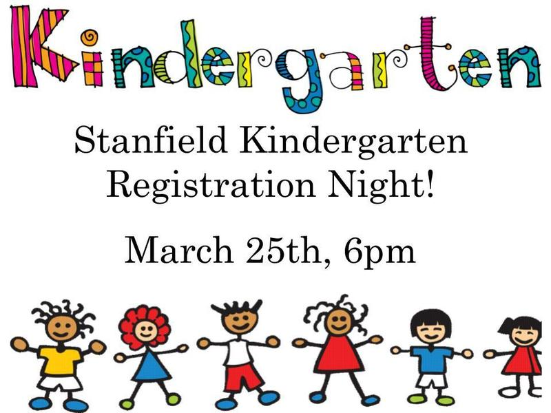Kindergarten Registration, March 25th @ 6pm Featured Photo