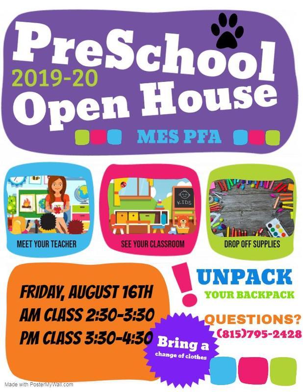 Preschool Open House Flyer Featured Photo