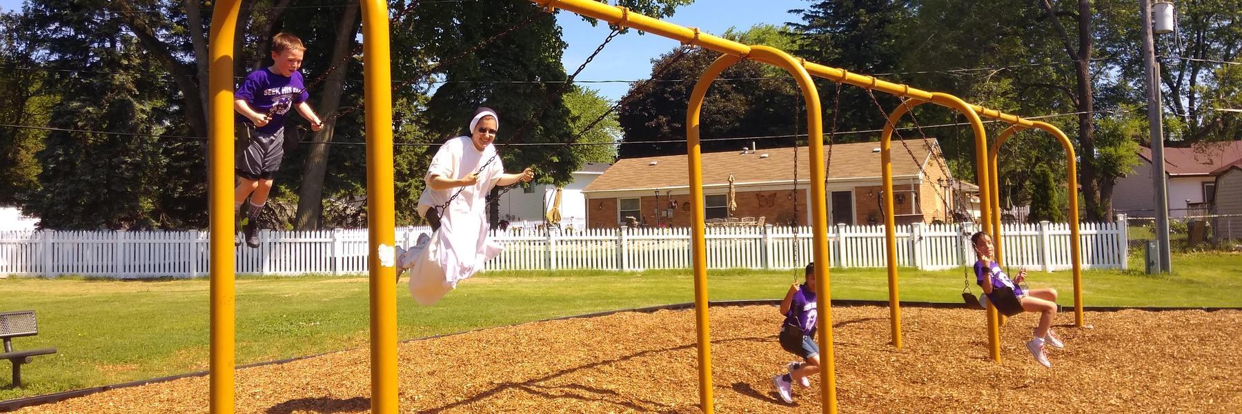 Sister Swinging